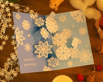 クリスマスカード POP-UP HOLIDAY CARD (20%OFF)