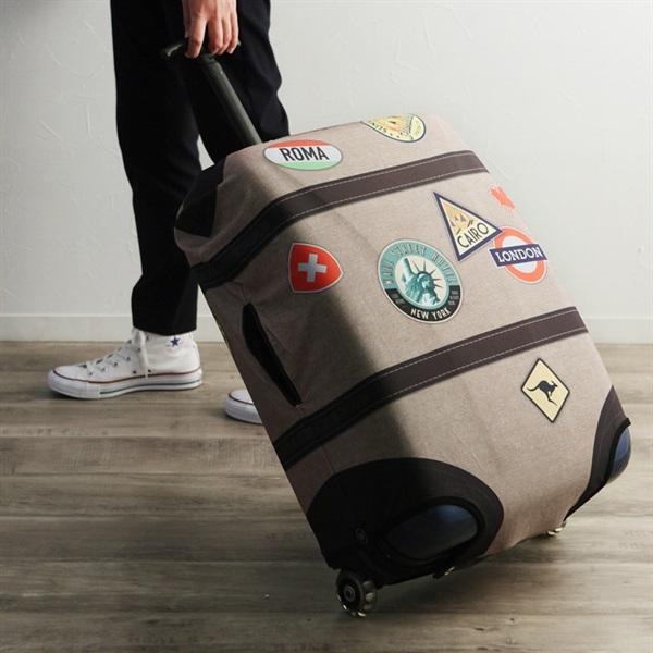 BIBELIB スーツケースカバー/ビブリブ