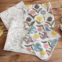 Woodblock Print Handkerchief 木版ハンカチ/鹿児島睦