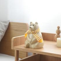 しろくま貯金箱 Polar Bear Money box