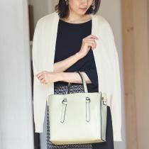【ウォッシャブル】 カシミヤ混 持ち歩き ショート カーディガン/ディシテ dignite