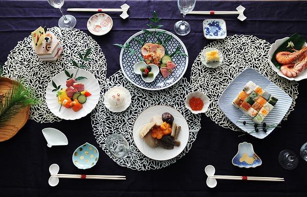 それぞれのスタイルで楽しむ「おせち」のカタチ・2 = 大皿